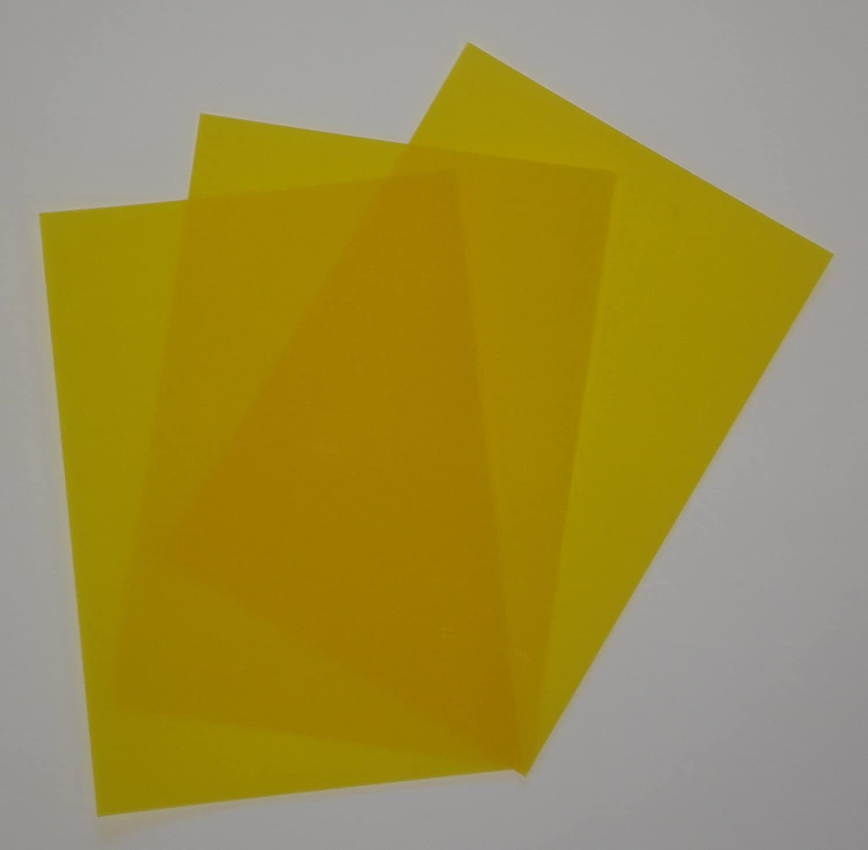 FPA-120 100 Blatt DIN A7 Gmund Transparentpapier 100g Farbe gelb transparent