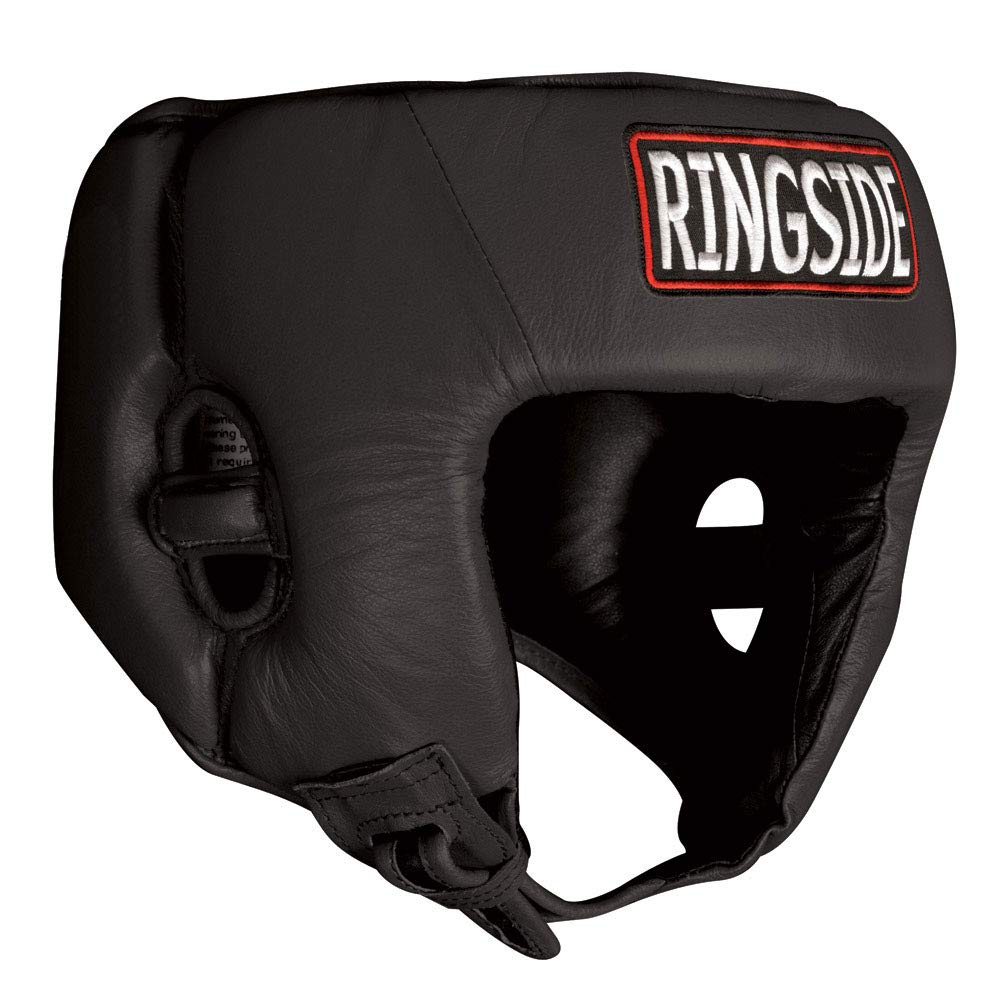 Ringside Youth Competition Headgear without Cheek B00O7XRIJC ブラック