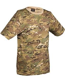 MIL-TEC Tarn T-Shirt  Army Shirt Tarn-Shirt flecktarn T-Shirt shortsleeve