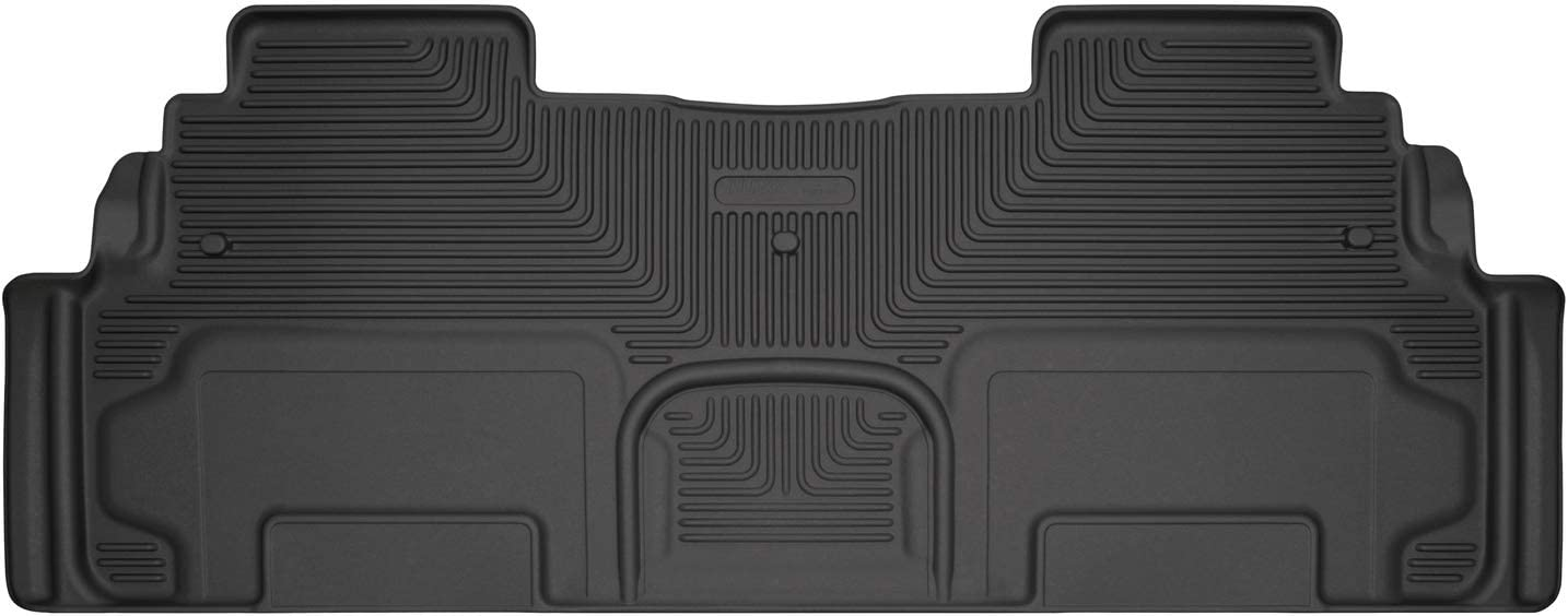2009-2017 Traverse Acadia Enclave Black Carpet 2nd Row Mat with Captain Chairs