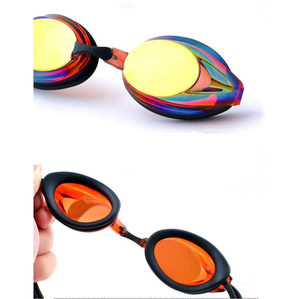 Schwimmbrille LCSHAN Strand Mode Brille Anti-Fog-Schutzbrille Galvanik wasserdicht Unisex Unisex Unisex (Farbe   Orange) B07FS74JXN Schwimmbrillen Online e5d7d0
