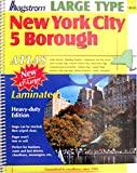 Atlas NYC 5 Borough Large Scale Laminated, Hagstrom Map Company Inc Staff, 1592459560