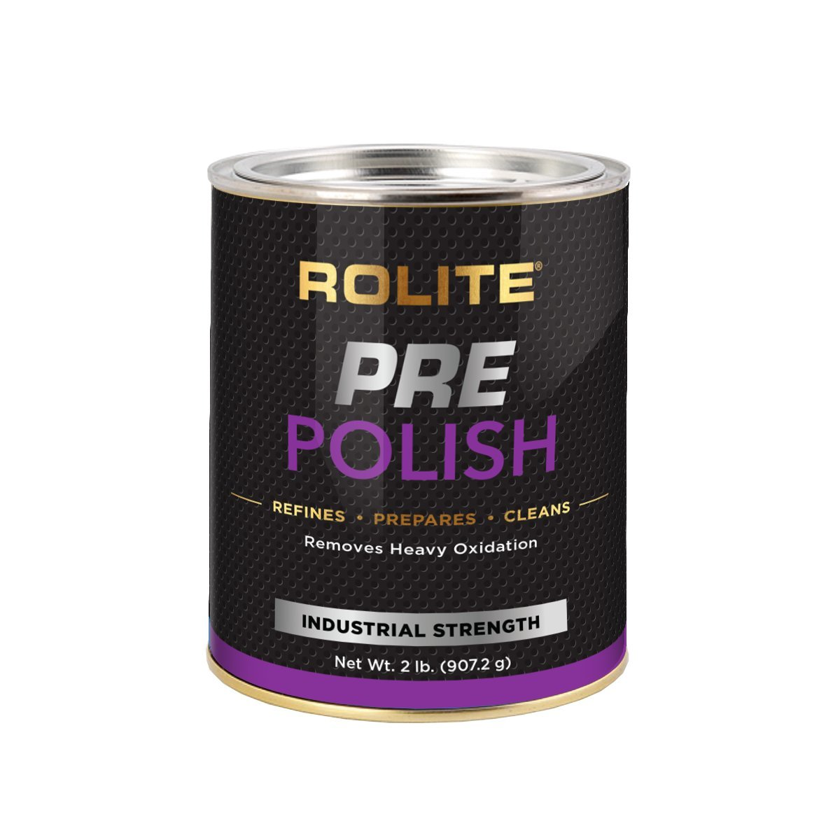 Rolite Pre-Polish (2lb) for Heavily Oxidized, Stained, Discolored and Corroded - Aluminum, Brass, Bronze, Chrome, Copper, Nickel, Paint & Gel-Coated Fiberglass and Stainless Steel