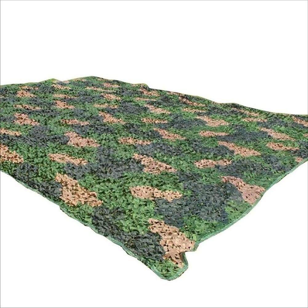迷彩ネット、オックスフォードファブリック迷彩ネット、ウッドランド、サンメッシュオーニング - ブラインドウォッチング用、非表示、カーカバー、壁の装飾、グリーン ZHAGNAIZHEN (Color : 緑, Size : 4 x 5m) 緑 4 x 5m