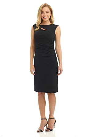 eac38971d48 Rekucci Women s Slim Dress with Side Ruching