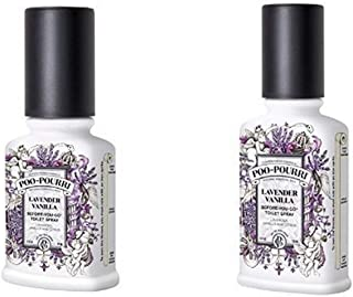 product image for Poo-Pourri Before-You-Go Toilet Spray 2-Piece Set, Includes 2-Ounce and 4-Ounce Bottle, Lavender Vanilla Scent