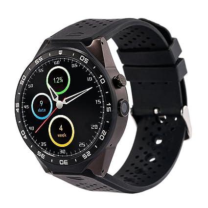 Amazon.com: TOOGOO(R) KW88 Smart Watch Android 5.1 Quad-Core ...