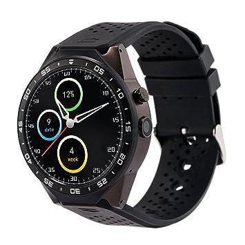 TOOGOO (R) kw88 reloj inteligente Android 5.1 Quad Core 4 GB GPS WIFI, oro rosa: Amazon.es: Electrónica