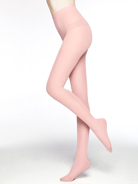 7100a0c20fc44b Moochi Women's 80 Denier Semi Opaque Tights - Light Pink: Amazon.ca:  Clothing & Accessories
