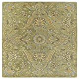 Kaleen Helena Collection Hand Tufted Area Rug, 8' x 10', Green