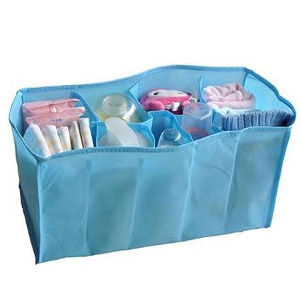 Pañales de bebé Youpin agua cambiador de pañales bolsa de almacenamiento organizador divisor (azul 7