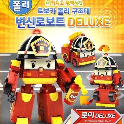 Robocar Poli Deluxe Transforming Robot Toy Roi