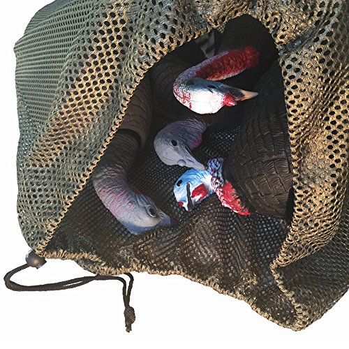 DecoyPro Mesh Decoy Bags - 2 Decoy Bag Bundle - Duck Decoy Bag - Goose Decoy Bag - Turkey Decoy Bag