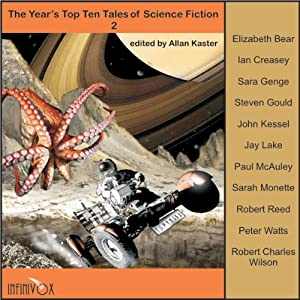 The Year's Top Ten Tales of Science Fiction 2 Audiobook
