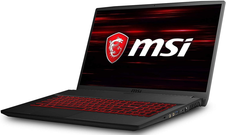 Intel Core i7-9750H, 16GB RAM, 512GB PCIe SSD, Nvidia GeForce GTX1650 4GB, Windows 10 Gaming-Laptop 43,9cm//17,3 Zoll//120Hz MSI GL75 9SC-023