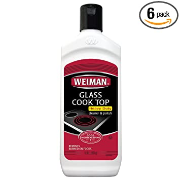 Amazon.com: WEIMAN Cook superior de vidrio Cleaner, 10-Ounce ...