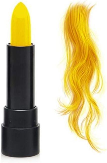 Pintura de colores para el cabello. Coloración temporal del ...