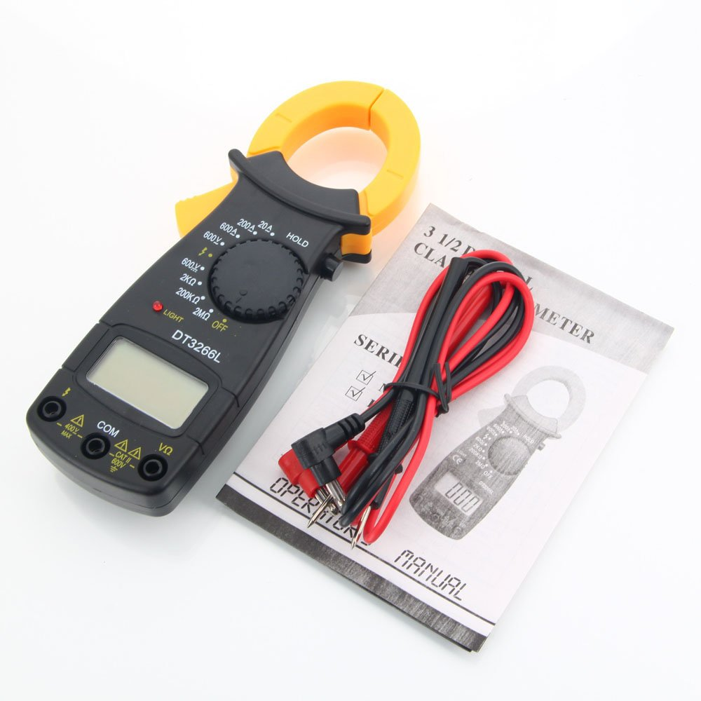 Clamp Style Multimeter : On sale dt l clamp type lcd display digital