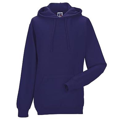 33da98e65 Russell Europe Hooded Sweatshirt - Purple - 2XL: Amazon.co.uk: Clothing