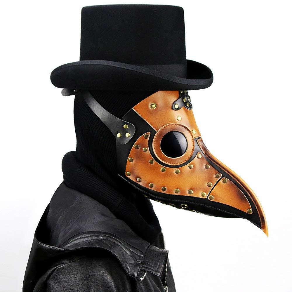 XB AMZ Pest Doktor Bird Maske Lange Nase Cosplay Steampunk Halloween Weihnachts Kostüm Requisiten