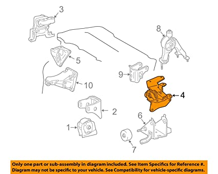 amazon com toyota 12372 0t060 engine mounting insulator automotive 1992 Toyota Corolla Engine Diagram image unavailable image not available for color toyota 12372 0t060 engine mounting insulator