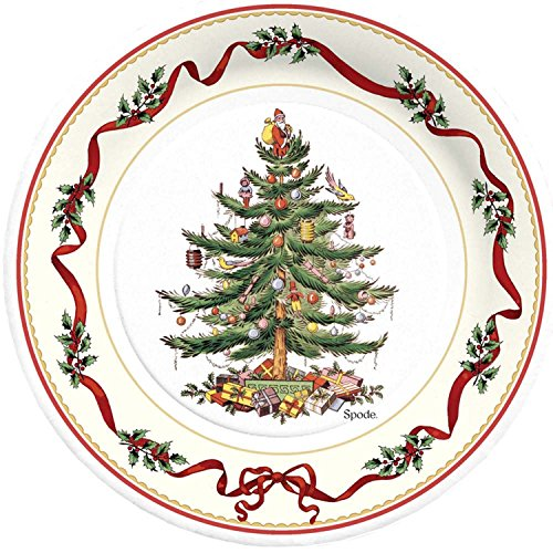 C.R. Gibson 8 Count Decorative Paper Lunch/Dessert Plates, Easy Clean Up, Measures 8