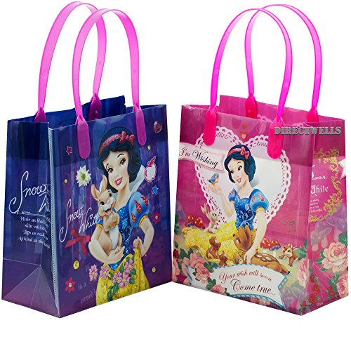 Disney Princess Snow White Authentic Licensed 12 Reusable Small Goodie Bags 6