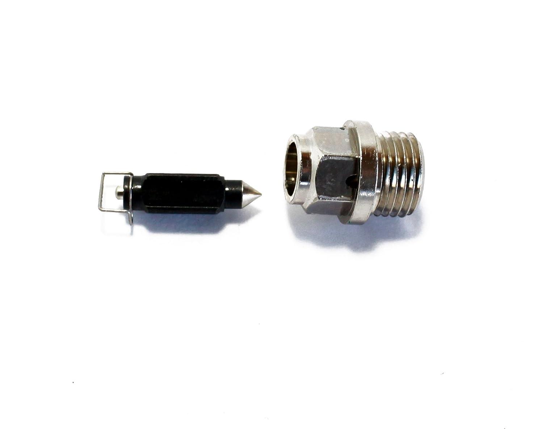 Polaris 400 Four Wheeler Carb Needle Seat Float Valve//Repairs Carburetor 3131385 /& 3130495 2 Stroke