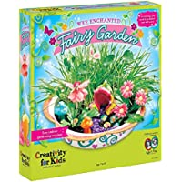 Creativity for Kids Enchanted Fairy Garden Craft Kit -...