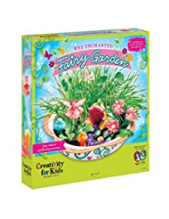 Creativity for Kids Enchanted Fairy Garden Craft Kit - Fairy ...