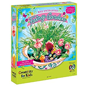 Superior Creativity For Kids Enchanted Fairy Garden Craft Kit   Fairy Crafts For Kids
