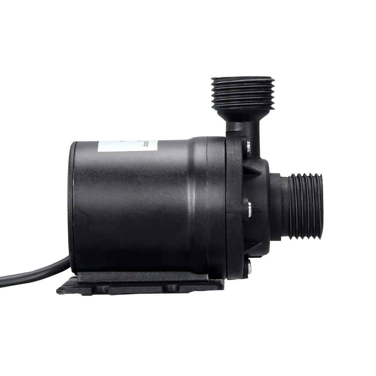 MXECO Professional Ultra Quiet Mini DC 12V Lift 5M 800L//H Brushless Motor Submersible Water Pump Multifunction Threaded Water Pump