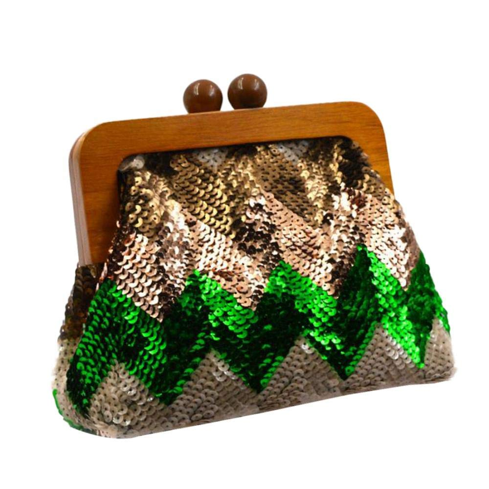 Easy Matching Sequin Clutch...