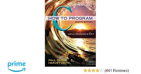 Amazon c how to program 8th edition 9780133976892 paul j amazon c how to program 8th edition 9780133976892 paul j deitel harvey deitel books fandeluxe Images