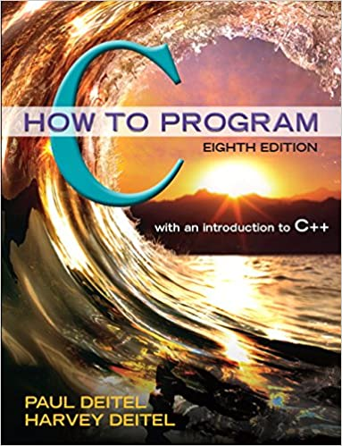 Deitel C How To Program 6th Edition Pdf