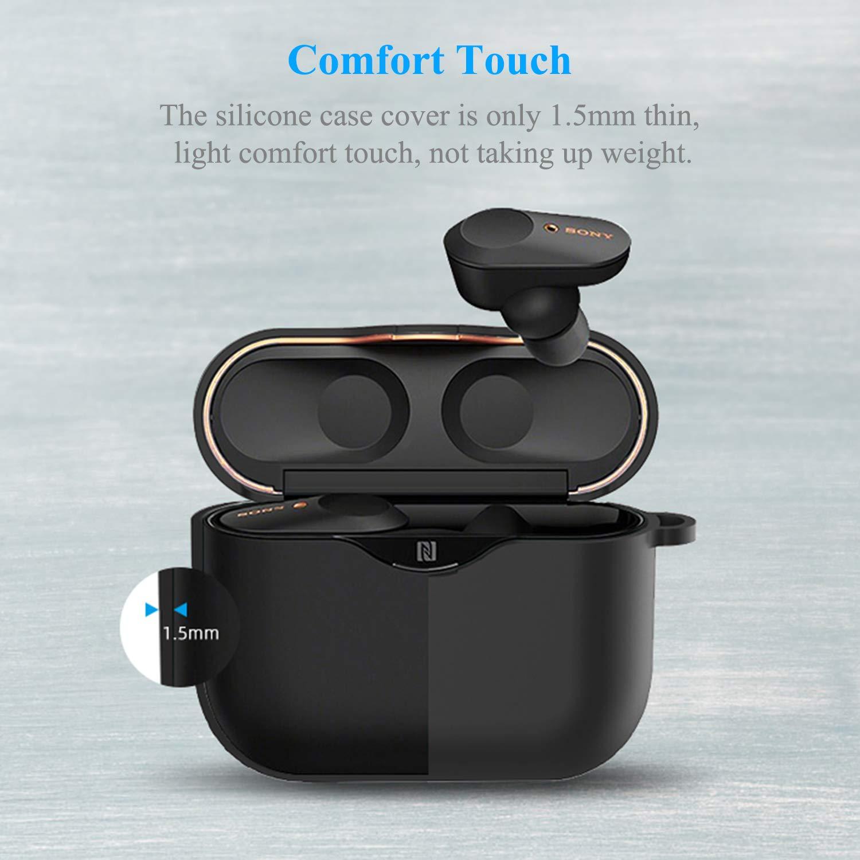 Amazon.com: Funda de silicona para auriculares inalámbricos ...