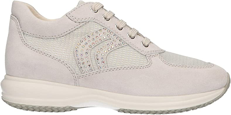 Geox D Happy C, Sneakers Basses Femme: : Chaussures