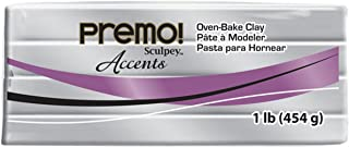 product image for Sculpey Premo Art Clay Accents, Silver