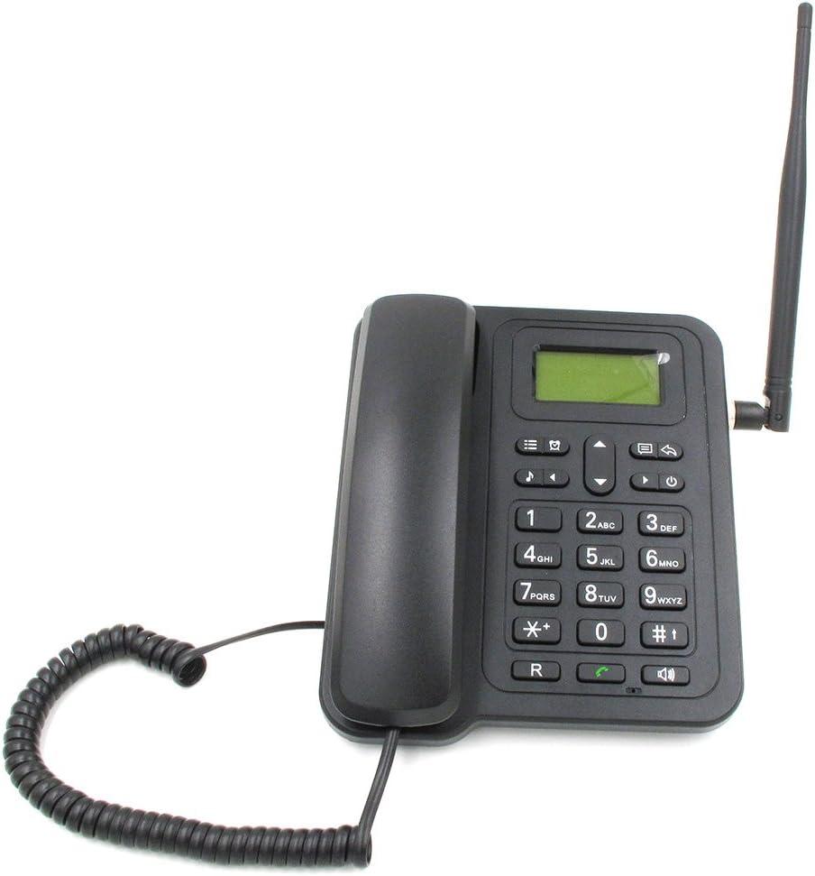 topsma inalámbrico teléfonos, teléfonos inalámbrico de doble tarjeta Dual Standby teléfonos, GSM, Wireless Quadband fija teléfonos, teléfonos inalámbricos para el hogar, apoyo SMS: Amazon.es: Electrónica