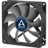 ARCTIC F9 PWM PST CO - 92mm Dual Ball Bearing Low Noise PWM Standard Case Fan with PST Feature - Ideal for Systems running 24/7