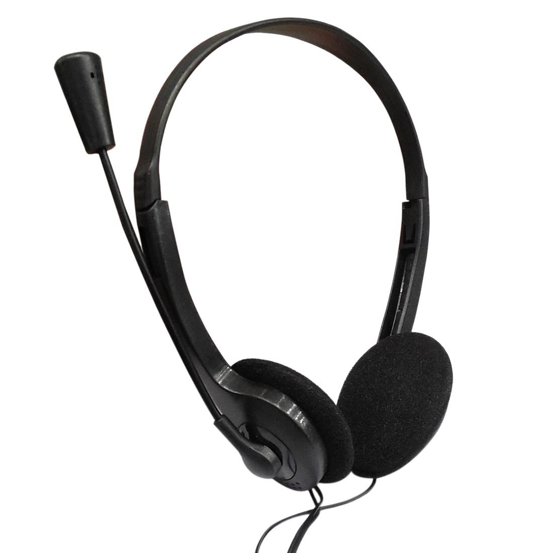 SODIAL 3.5mm Stereo Headset Earphone Headphone with Microphone for Laptop by SODIAL (Image #2)