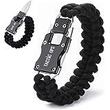 Tactic Ops Paracord Knife Bracelet Survival Knife Bracelet Cord Bracelets Multitool Hiking Gear Tactical EDC Bracelet Camping