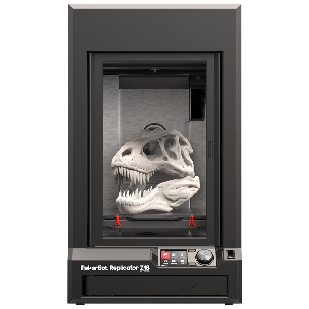 MakerBot Replicator Z18 3D Printer, Firmware Version 1 7+:
