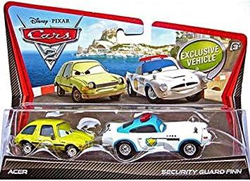 Cars V2840 2 - Coche en Miniatura de Finn McMissile & Acer ...