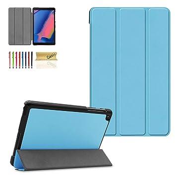 Amazon.com: Casii - Funda para Galaxy Tab A 8.0 (2019) P200 ...