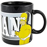 United Labels 119865 I Simpson - Homer Tazza XXL Last perfect Man, 850 ml