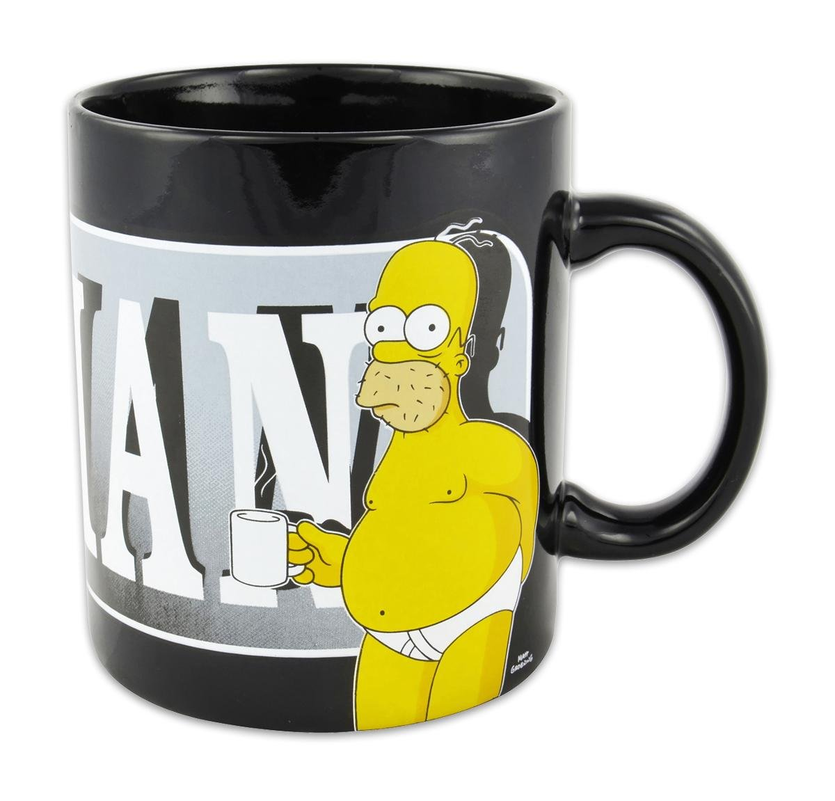Los Simpson - XXL Taza diseño de Homer, 850 ML https://amzn.to/2GvooXQ