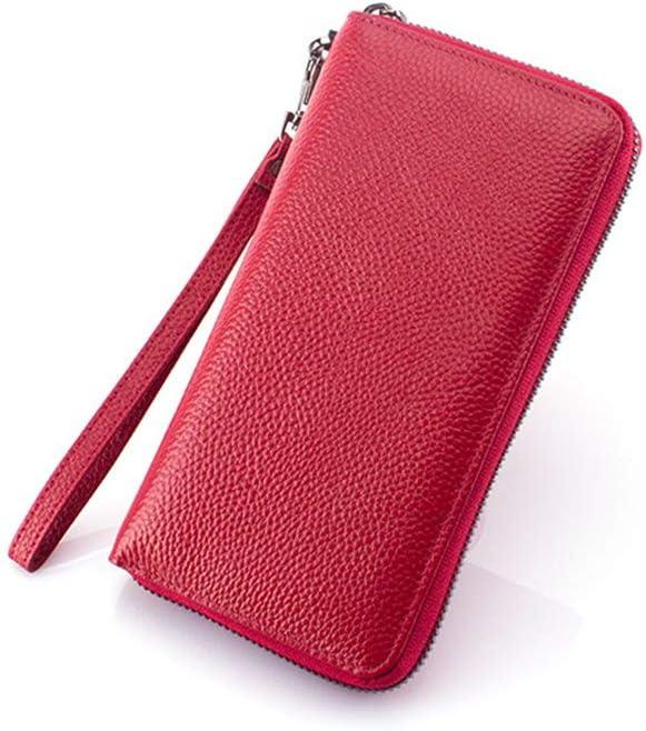 GYYCY Zipper Lady Wallet Nuevo Titular De Tarjeta Bancaria Multifunción