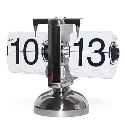 Kabb Orologio Retro Flip Clock Orologio Da Tavolo Vintage Orologio
