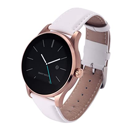 PUAK523 Smart Reloj de pulsera, K88H Bluetooth Smart Watch con monitor de ritmo cardíaco,